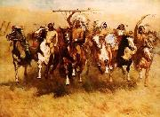 Frederick Remington Victory Dance oil painting picture wholesale