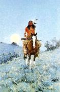 Frederick Remington The Outlier oil painting picture wholesale