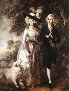 GAINSBOROUGH, Thomas Mr and Mrs William Hallett (The Morning Walk) oil painting picture wholesale