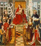 GALLEGO, Fernando Madonna of the Catholic Kings sdg oil