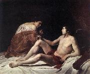 GENTILESCHI, Orazio Cupid and Psyche dfhh oil painting picture wholesale