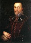 GHEERAERTS, Marcus the Younger Sir Francis Drake dfg oil painting artist