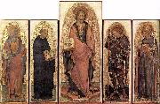 GIAMBONO, Michele Polyptych of St James dfh oil painting artist