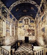 GIOTTO di Bondone The Chapel viewed towards the entrance sdg oil painting picture wholesale