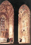 GIOTTO di Bondone View of the Peruzzi and Bardi Chapels fh oil painting picture wholesale