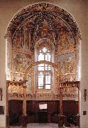 GOZZOLI, Benozzo View of the main apsidal chapel dfg oil painting picture wholesale