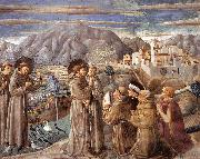 GOZZOLI, Benozzo Scenes from the Life of St Francis (Scene 7, south wall) dfg oil painting picture wholesale