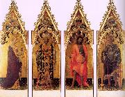 Gentile da  Fabriano Four Saints of the Quaratesi Polyptych oil painting picture wholesale