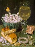 Georg Flegel Still Life with Bread and Confectionery 7 oil painting artist