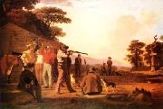 George Caleb Bingham Shooting for the Beef oil painting picture wholesale