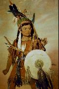 George Catlin Indian Boy oil painting artist