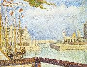 Georges Seurat Port en Bessin, Sunday oil painting picture wholesale