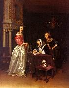 Gerard Ter Borch Curiosity oil painting picture wholesale