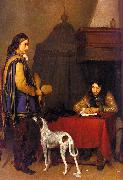 Gerard Ter Borch The Dispatch oil painting picture wholesale