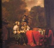 Gerbrand van den Eeckhout Party on a Terrace oil painting artist