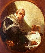 Giovanni Battista Tiepolo Portrait of Antonio Riccobono oil painting picture wholesale