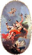 Giovanni Battista Tiepolo The Triumph of Zephyr and Flora oil painting picture wholesale