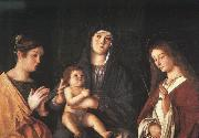Giovanni Bellini The Virgin and the Child with Two Saints Germany oil painting reproduction