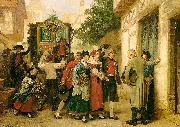 Gustave Brion Wedding Procession oil painting picture wholesale