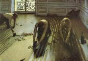 Gustave Caillebotte The Floor Strippers oil painting artist