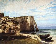 Gustave Courbet The Cliff at Etretat after the Storm oil painting picture wholesale