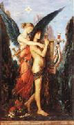 Gustave Moreau Hesiod and the Muse oil painting artist