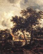 HOBBEMA, Meyndert The Water Mill sf oil painting picture wholesale