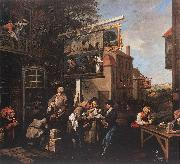 HOGARTH, William Soliciting Votes s oil painting picture wholesale