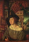 HOLBEIN, Ambrosius Portrait of a Young Man sf oil painting picture wholesale
