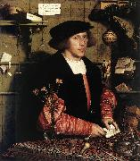 HOLBEIN, Hans the Younger Portrait of the Merchant Georg Gisze sg oil painting picture wholesale