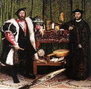 HOLBEIN, Hans the Younger Jean de Dinteville and Georges de Selve (`The Ambassadors') sf oil painting picture wholesale