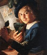 HONTHORST, Gerrit van Young Drinker  sr oil painting picture wholesale