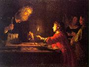 HONTHORST, Gerrit van Childhood of Christ sf oil painting picture wholesale