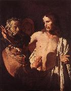 HONTHORST, Gerrit van The Incredulity of St Thomas sdg oil painting picture wholesale
