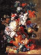 HUYSUM, Jan van Bouquet of Flowers in an Urn sf oil painting picture wholesale
