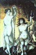 Hans Baldung Grien Sacred and Profane Love oil painting picture wholesale
