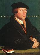Hans Holbein Portrait of a Member of the Wedigh Family oil painting picture wholesale