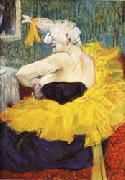 Henri De Toulouse-Lautrec The Lady Clown Chau-U-Kao oil painting picture wholesale