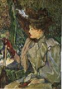 Henri De Toulouse-Lautrec Woman with Gloves oil painting picture wholesale