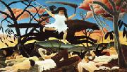 Henri Rousseau War(Cavalcade of Discord) oil painting picture wholesale