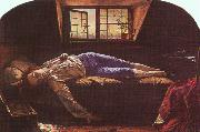 Henry Wallis The Death of Chatterton oil
