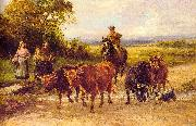 Heywood Hardy The Handsome Drover oil painting artist