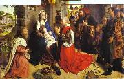 Hugo van der Goes Adoration of the Magi oil painting picture wholesale
