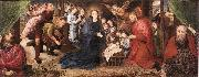 Hugo van der Goes Adoration of the Shepherds oil painting artist