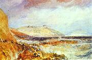 J.M.W. Turner Pendennis Castle Cornwall; Scene after a Wreck. oil painting picture wholesale