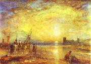 J.M.W. Turner Flint Castle oil painting picture wholesale