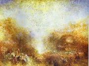 J.M.W. Turner Mercury Sent to Admonish Aeneas oil painting picture wholesale