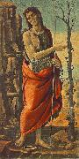 JACOPO del SELLAIO Saint John the Baptist sf oil painting artist