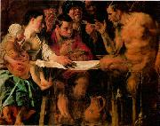 JORDAENS, Jacob St Charles Cares for the Plague Victims of Milan s oil painting picture wholesale