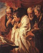Jacob Jordaens The Four Evangelists oil painting picture wholesale